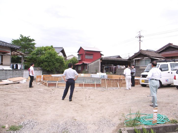 飯塚の住宅|配筋検査