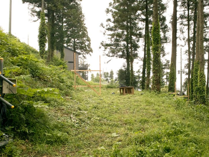 雷山の森の住宅|着工