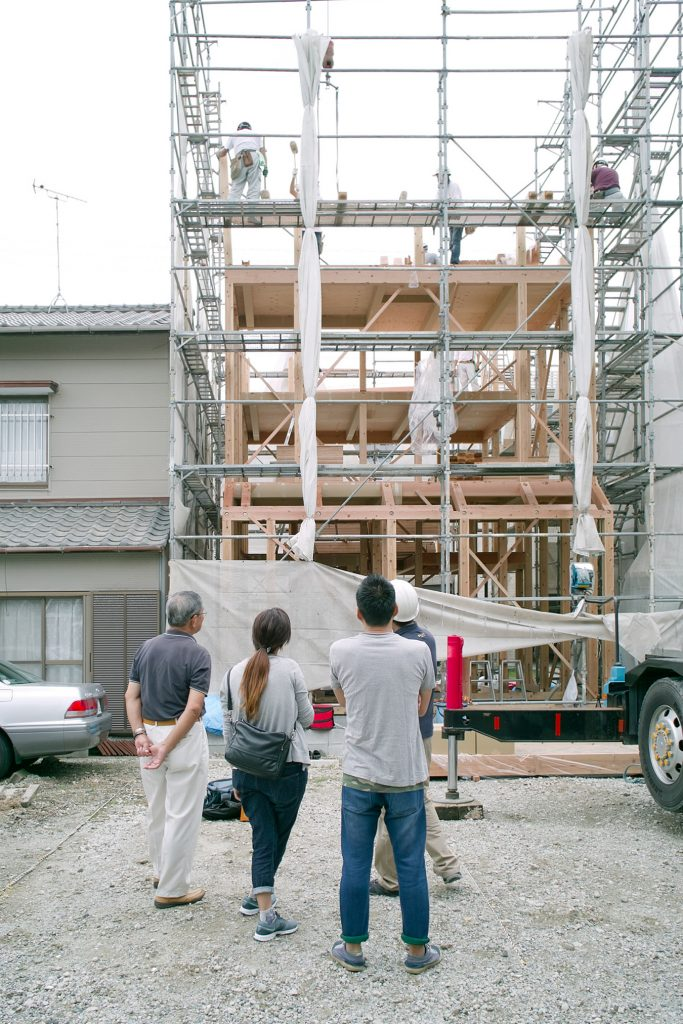 house in Chitosemachi / Process