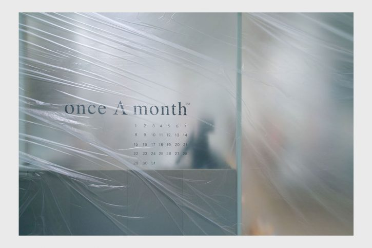 once A month|リニューアル