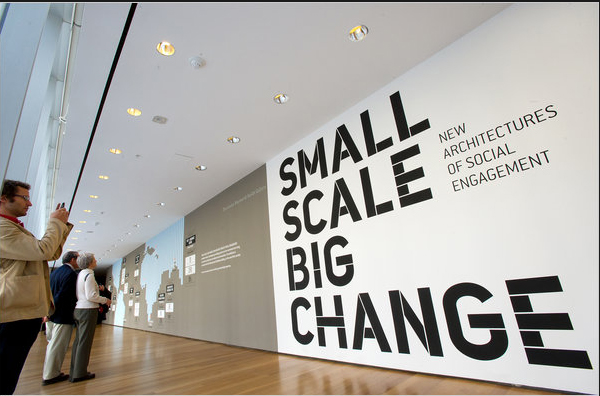 SMALL SCALE BIG CHAGE|New Architecture of Social Engagement|社会的な接続をもたらす新たな建築